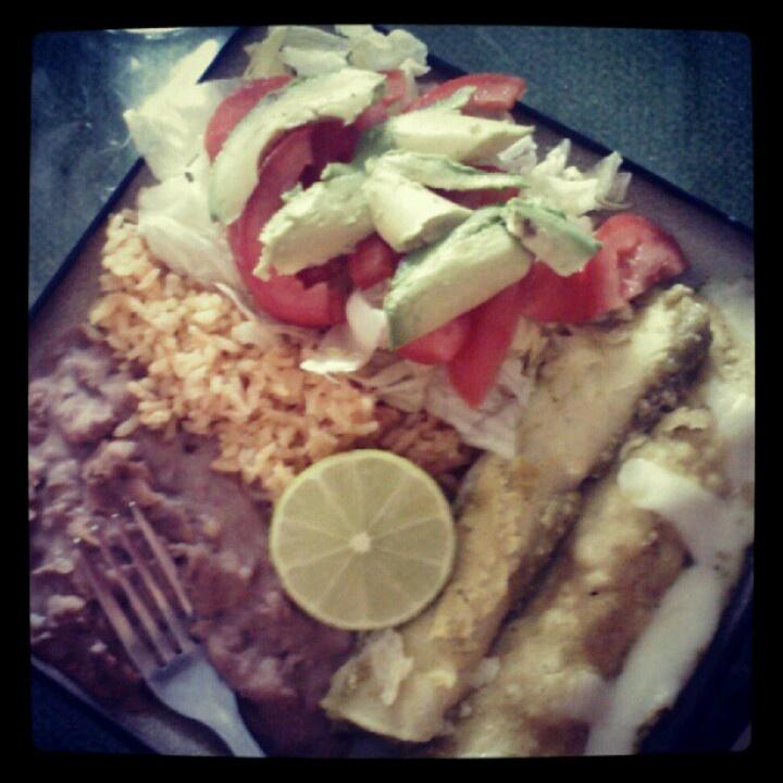 Enchiladas | My Very Own foods, drinks, deco. | Pinterest