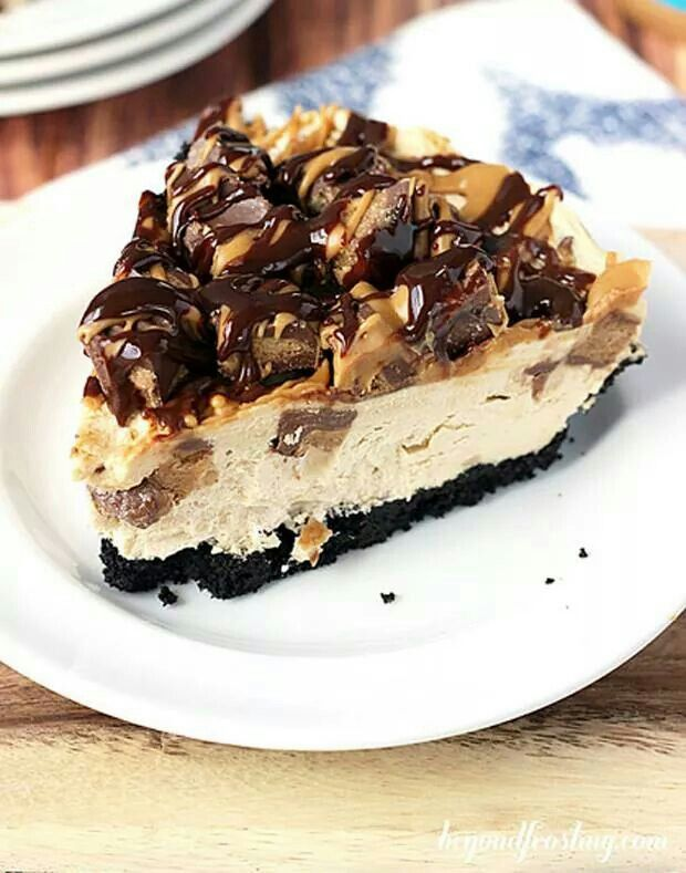 Ultimate reeses peanutbutter pie | Peanut butter :) | Pinterest