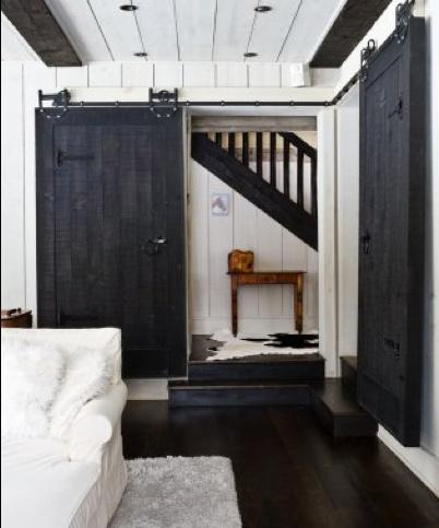 Sliding Barn Door For The Home Pinterest