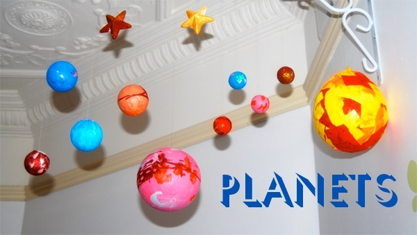 Styrofoam balls for planets page 4 pics about space - Hanging planets decorations ...