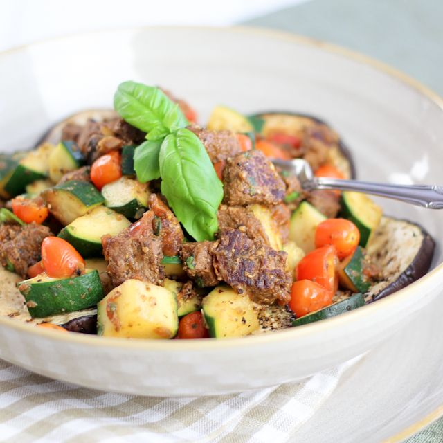 The Meat Lover's Ratatouille | http://thehealthyfoodie.com/2013/03 ...