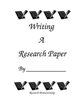 Step by step instructions for writing a research paper