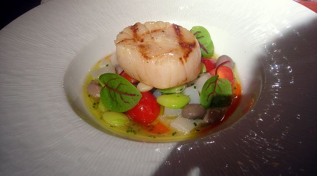 ... scallops with tropical salsa seared scallops with lemon and vodka
