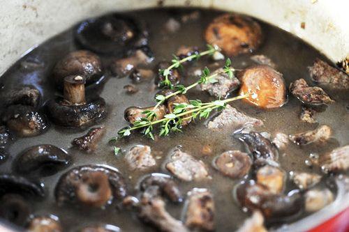 Beef Stew with Mushrooms   Recipe