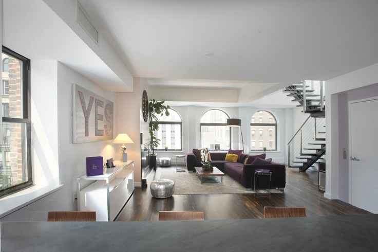 Cool New York Apartment Yes Loft Living Pinterest