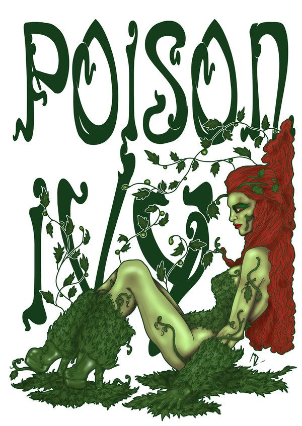 Poison ivy down with dc pinterest