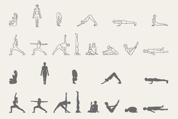 Line Drawing Yoga Pose : Pin by brittany pino on fitness pinterest