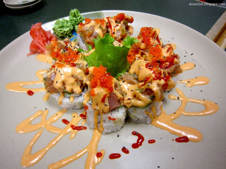 Volcano roll sushi: | these are a few of my favorite things... | Pint ...