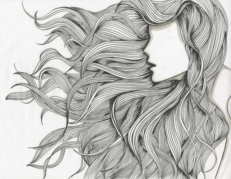 flowing hair and dimensional - photo #21