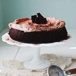 Chocolate Cloud Cake | Recipes | Pinterest