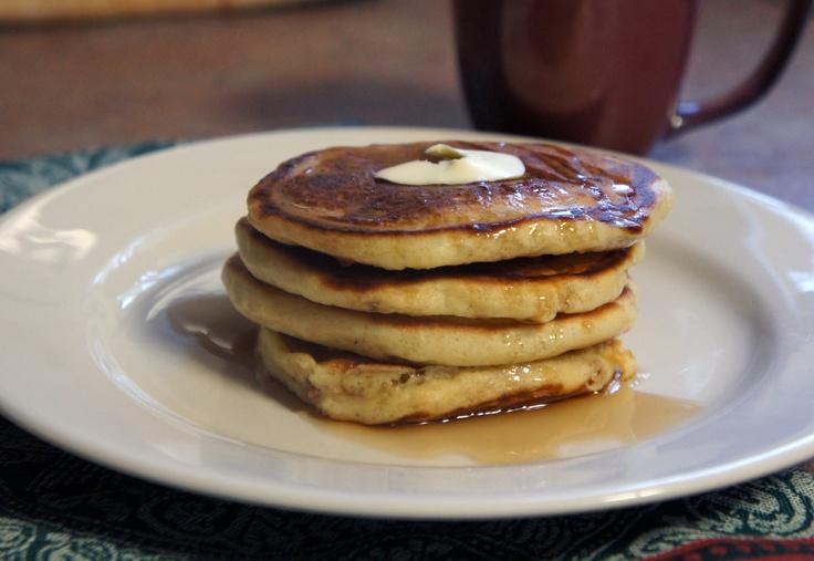 Maple Bacon Buttermilk Pancakes | Pancakes, Waffles, Crepes, etc | Pi ...