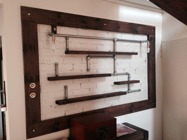 Pipe & Wood Shelving | Design Ideas | Pinterest