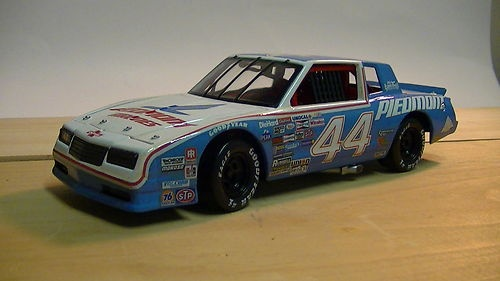 texas terry labonte 39 s 44 piedmont airlines 1984 blue and white che. Cars Review. Best American Auto & Cars Review