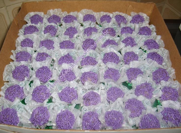 Docinhos: Brigadeiro de uva