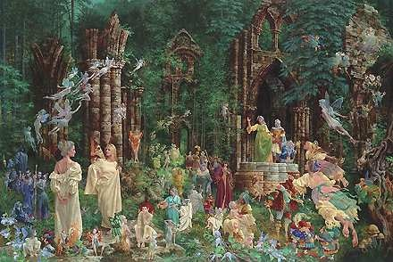 Court of Faeries by James Christensen