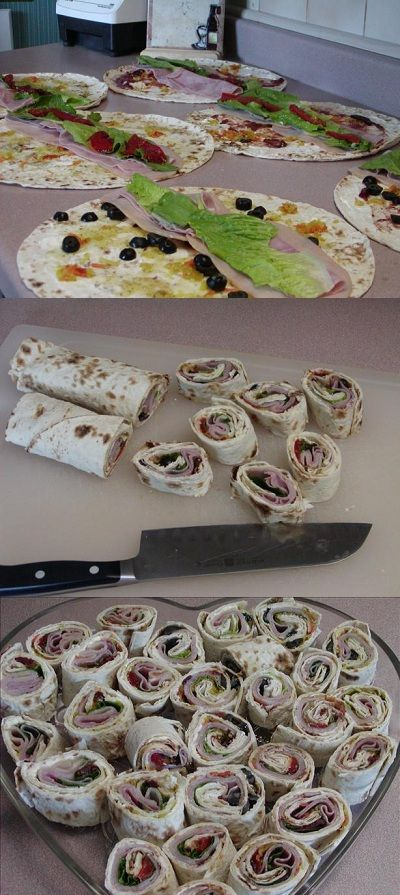 Sweet and Spicy Wraps