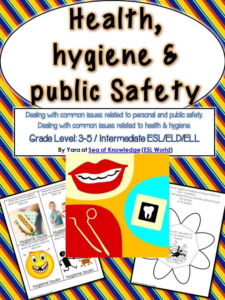 Safety, Health u0026 Hygiene Unit {Printables u0026 Activities ...