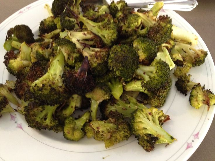 Roasted Broccoli and Carrots Roast 425-450F Olive oil, dukkah, fennel ...