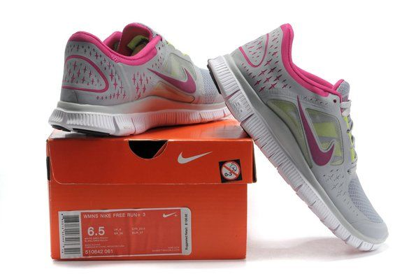 Nike Free 5.0 V3 Womens Running Shoes Cheap Sale Grey Rose