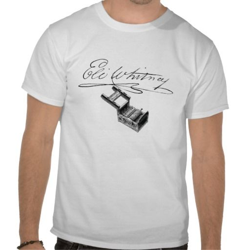 Eli Whitney Signature Cotton Gin Shirt