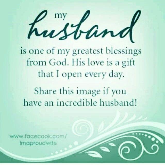 proud of you husband