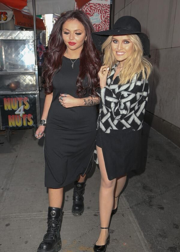 Jesy Nelson and Perrie...