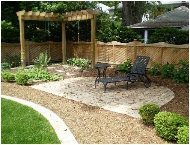 Nice Landscaping Back Yard Garden Landscaping Ideas