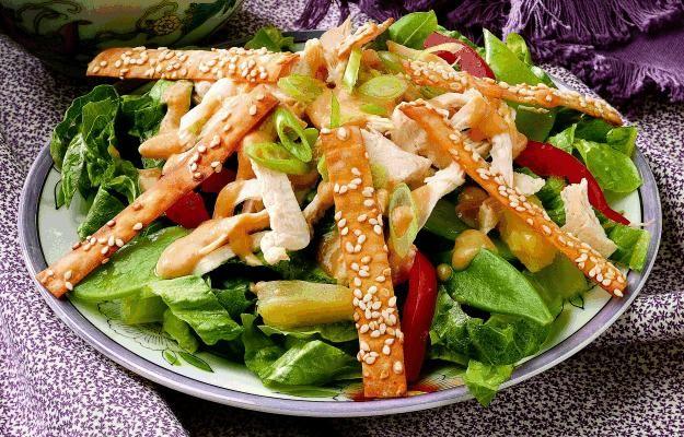 Chicken Gazpacho Salad Recipe | Recipe of the Day | Pinterest