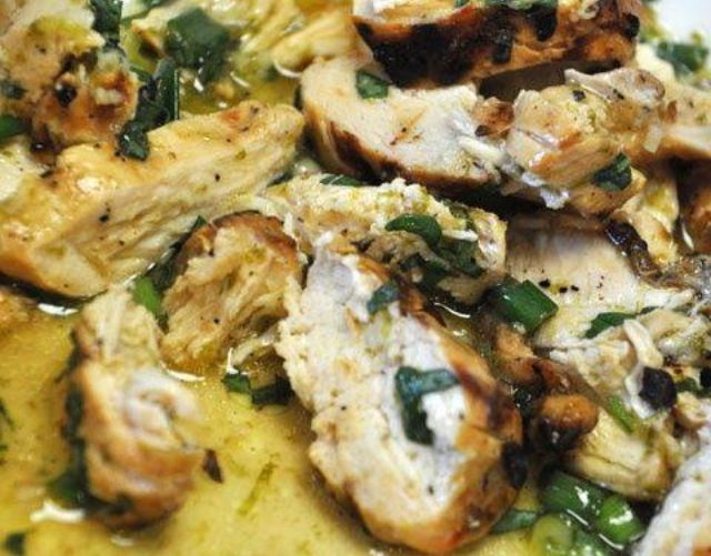 Chicken With Garlic, Basil, And Parsley Recipes — Dishmaps