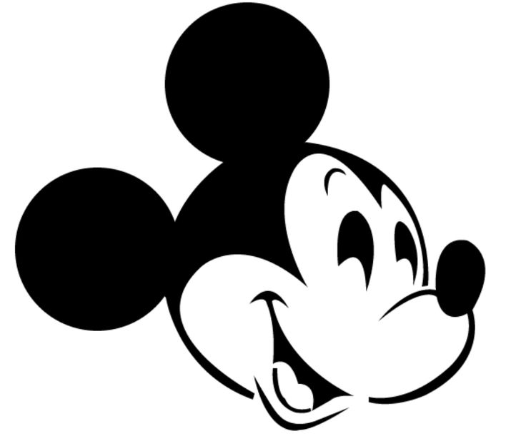 Mickey mouse pumpkin carving pattern birthday pinterest