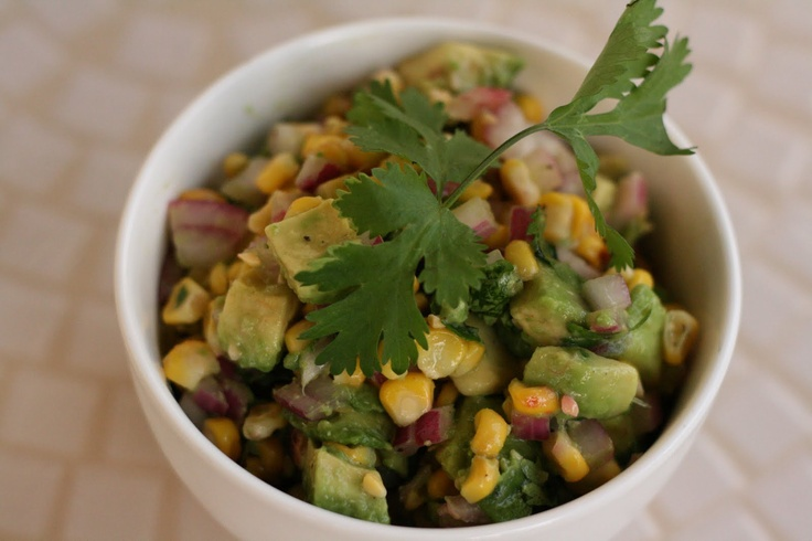 Roasted Corn & Avocado Salsa | Recipe