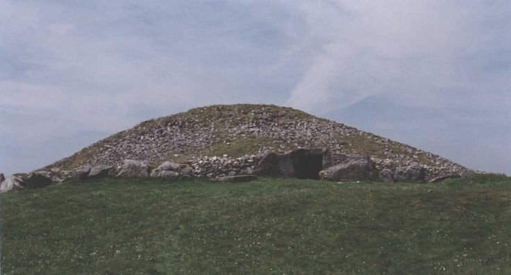 "Loughcrew, Ireland. Megalithic passage tomb aligned to the equinox. On the equinoxes the rising Sun illuminates a decorated backstone within the cairn. (Photo: Michael Fox) ©Mona Evans, ""Autumnal Equinox"" http://www.bellaonline.com/articles"