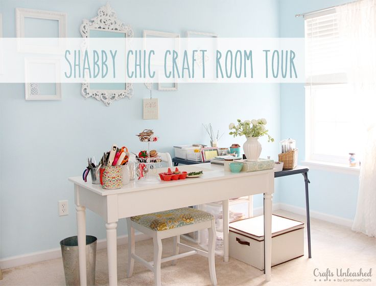 Shabby Chic Craft Room 736 x 560