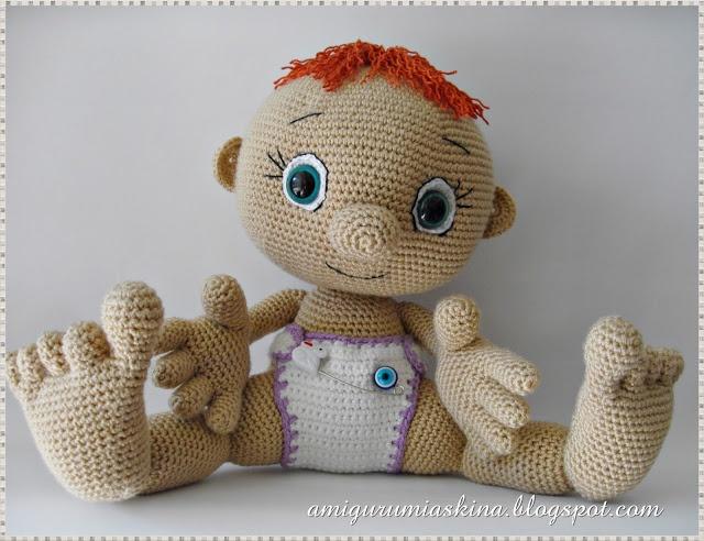 amigurumi baby Crochet Pinterest