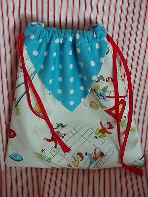 """Primitive Ditty Bag Pattern PM by """" Nanny Goat Primitives """""""