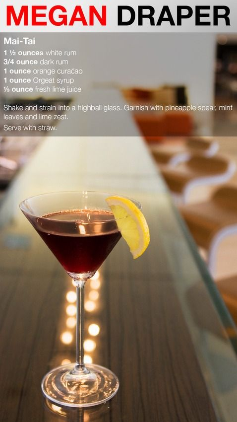 12 Cocktails to Pair With Your Favorite 'Mad Men' Character