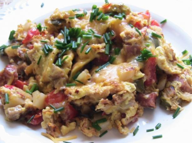Easy Bauernfruhstuck (German Farmer's Breakfast Skillet) | Recipe