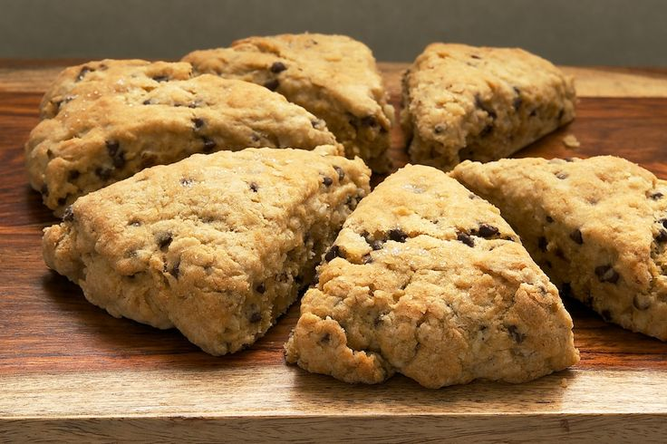 Chocolate Chip-Hazelnut Scones are wonderfully soft and moist with ...