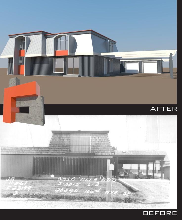 The neo mansard for Modern mansard roof