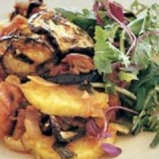 Layered Eggplant and Polenta Casserole   Gluten Free YUMMMM!   Pinter ...