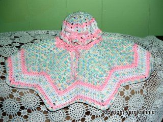 Easiest Crochet Poncho - baby - Adult sizes / Pancho en