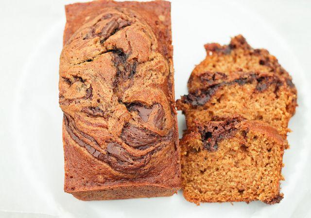 Pumpkin Nutella Bread!!! (by niftyfoodie, via Flickr)