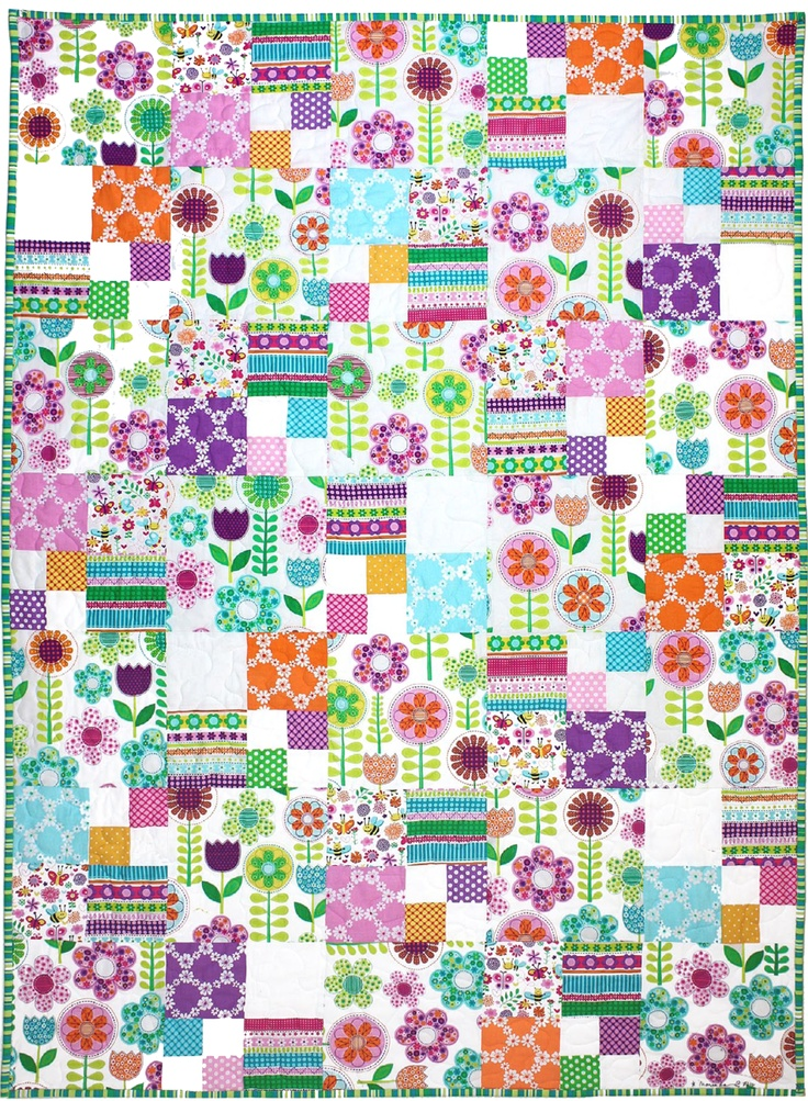 BUSY BEE Free Quilt Pattern Quilting II Pinterest