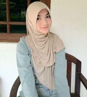 cewek cantik berjilbab hijab pinterest