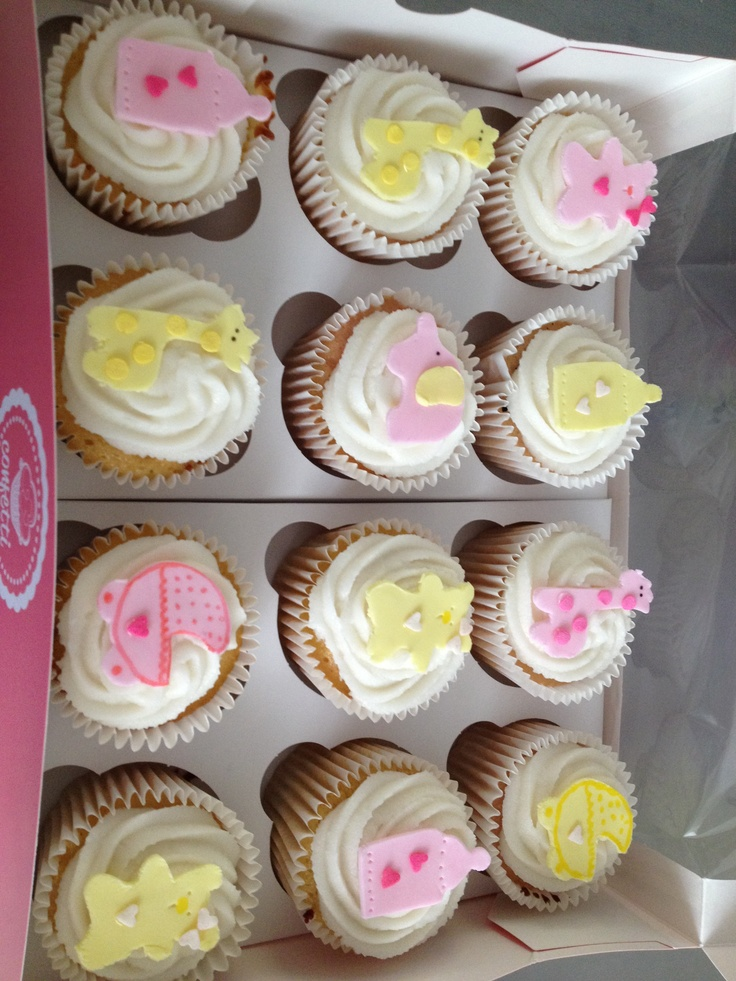 Living Room Decorating Ideas: Baby Shower Cupcakes Pinterest