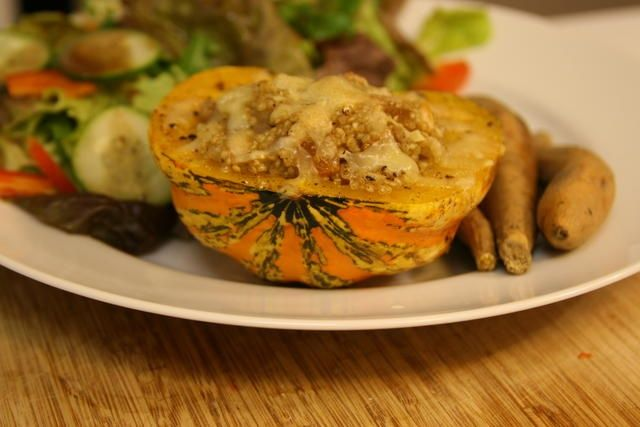 Quinoa Stuffed Carnival Squash | Cooking/Baking | Pinterest