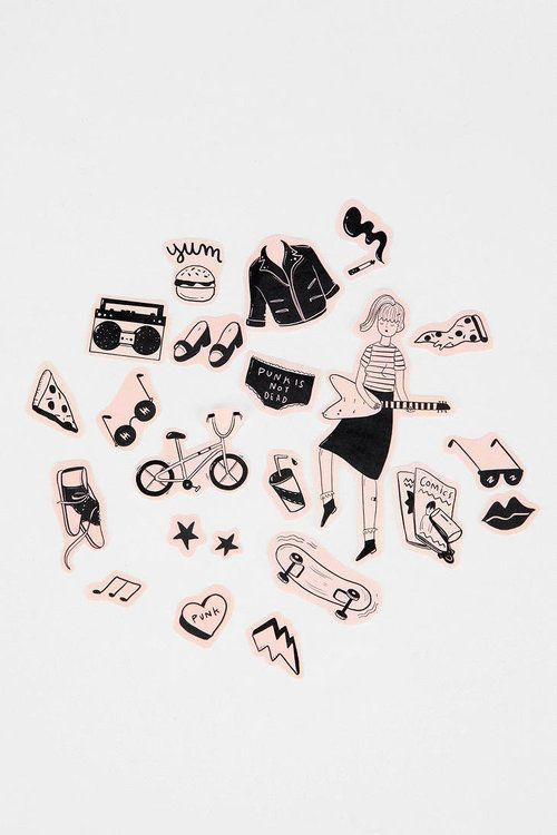 Stickers x urban outfitters