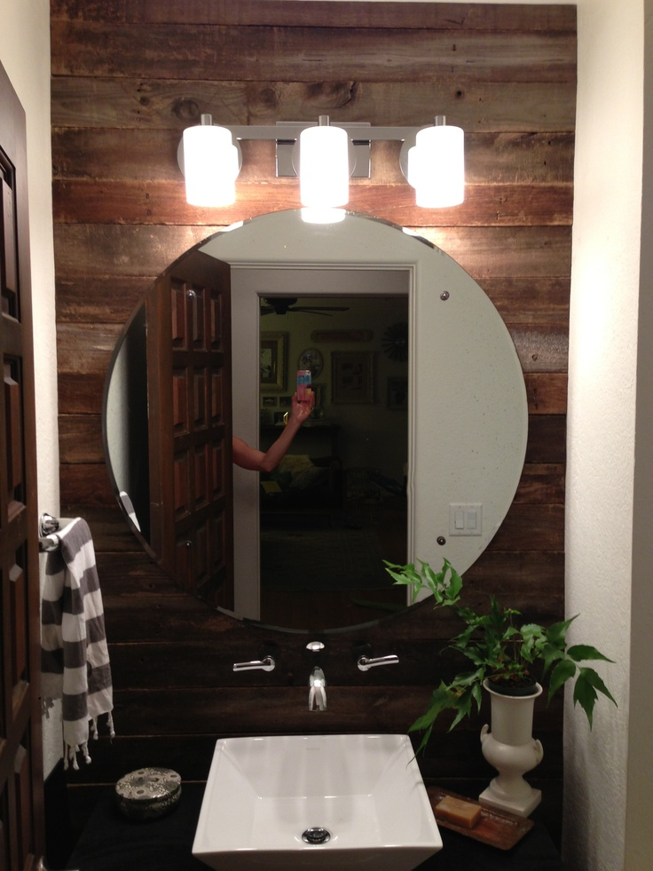 Modern rustic bathroom decoration basement ideas pinterest for Bathroom ideas rustic modern