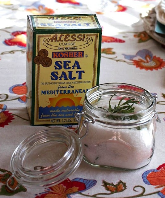 Make your own gourmet rosemary salt | Ideas | Pinterest