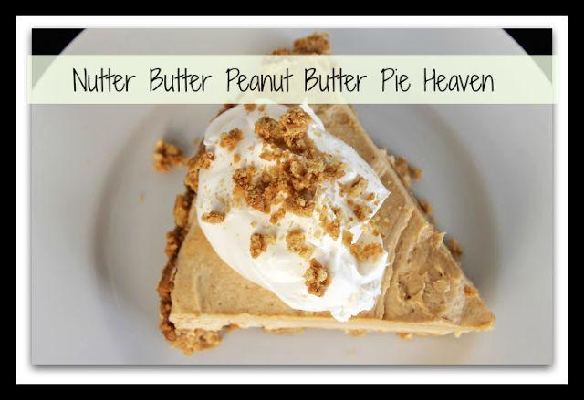 Super Creamy Nutter Butter Peanut Butter Pie
